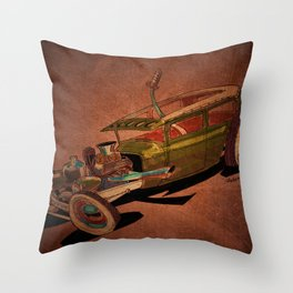 Snotty Throw Pillow