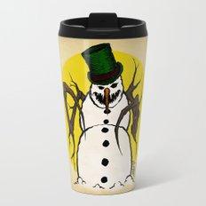 Sinister Snowman Travel Mug