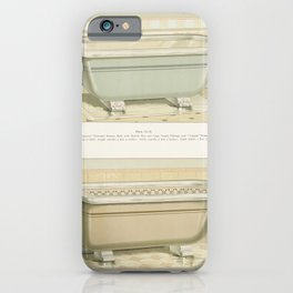 Vintage  of imperial porcelain baths published in 1888 by JL Mott Iron Works iPhone Case