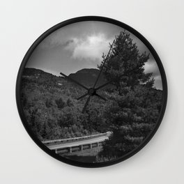 The Road I'm On Wall Clock