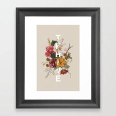 Thrive I Framed Art Print