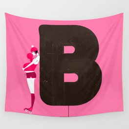 Barbara & BubbleBoddy Wall Tapestry