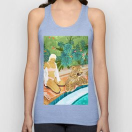 The Wild Side #illustration #painting Unisex Tank Top