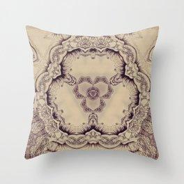 Elegant etnic chineese arabic exotic soft Throw Pillow