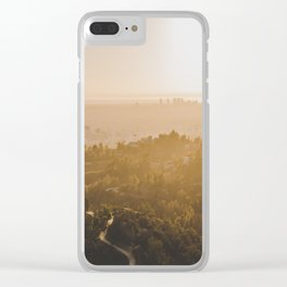 Golden Hour - Los Angeles, California Clear iPhone Case