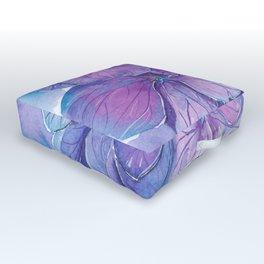 Hydrangea Outdoor Floor Cushion