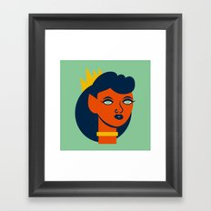Belinda Bloodflower Framed Art Print