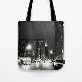 New York City at Night Tote Bag