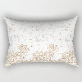 Indian Floral for Christmas Rectangular Pillow