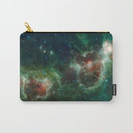 Hubble Space Photograph - Heart and Soul Nebulae Carry-All Pouch