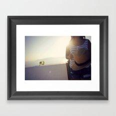etheral moment Framed Art Print