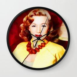 Gloria Grahame, Vintage Actress Wall Clock