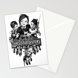 Rapture's Emblems : The Little Sisters Stationery Cards