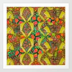Citrus Tiwst Art Print