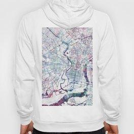 Philadelphia map Hoody