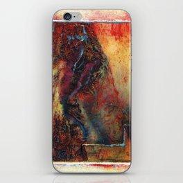 Monoprint by Dennis P Jordan, Untitled iPhone Skin