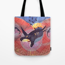 hunger and greed Tote Bag