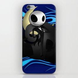 jack skellington iPhone Skin