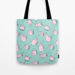 Little Piggies, patterns of pigs, l just love pigs! Tote Bag