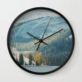 Tenya Lake in Yosemite National Park Wall Clock