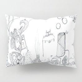 The Worm Pillow Sham