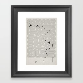Zen Garden. Framed Art Print