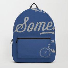 Traveling Somewhere Backpack