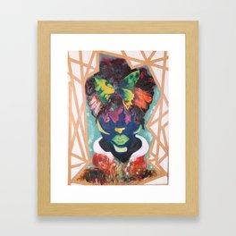 Buttered Anatomy Framed Art Print