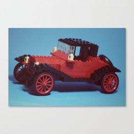 Lego Vintage Cadillac Canvas Print