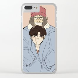 Levihan Clear iPhone Case