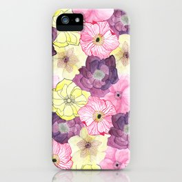 The Hellebores iPhone Case