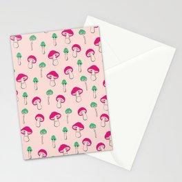 Mushroom Garden Stationery Cards