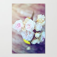 The Last Days of Spring - Old Roses IV Canvas Print