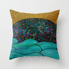 Oceania Throw Pillow