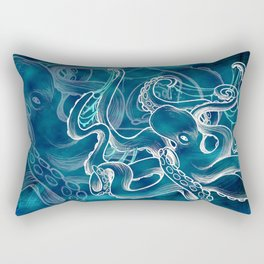 octopus-water Rectangular Pillow