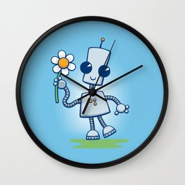 Ned's Flower Wall Clock