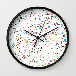 Colourful Sting Pattern Wall Clock