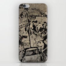 Berlin Street Art concrete iPhone & iPod Skin