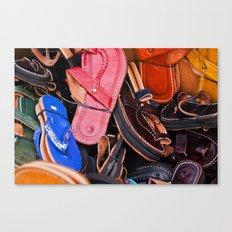 Flip-Flops Canvas Print
