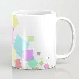 Rectangles flux - Vector Coffee Mug
