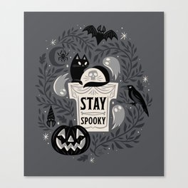 Stay Spooky Canvas Print
