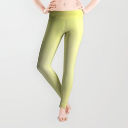 Sunny Yellow Wash of Color Leggings