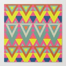Fresh Geometric Chic Canvas Print