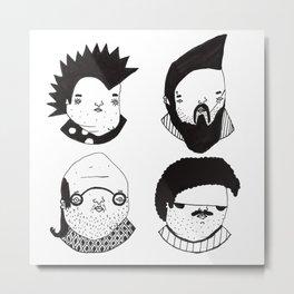 Busts 2° Part Metal Print