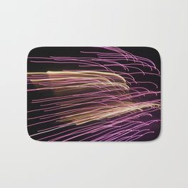 Night Stripes Bath Mat