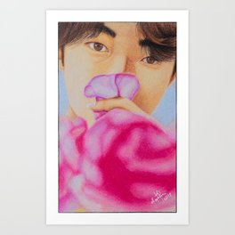 Kevin The Boyz Art Print