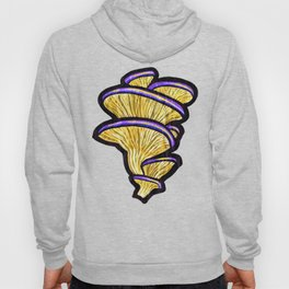 Oyster Mushroms (no background) Hoody