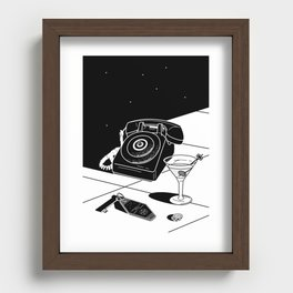 Tranquility Base Hotel + Casino Recessed Framed Print