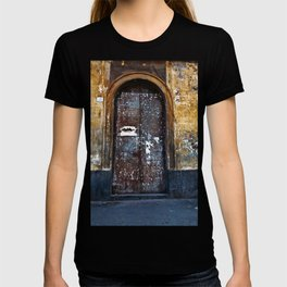 Old Sicilian door of Catania T-shirt