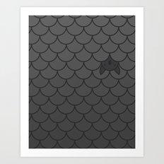 The Last Bat Art Print